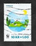 de Europa - Dinamarca -  1826 - WWF, Protección de la Naturaleza