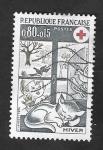 de Europa - Francia -  1829 - Cruz Roja, El Invierno