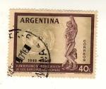 Stamps : America : Argentina :  X Anivers. declaracion de los Derechos Humanos