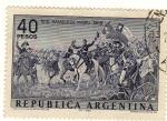 Stamps : America : Argentina :  Batalla de Maipu