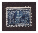 Stamps United States -  Pocahontas 1907