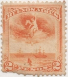 Stamps : America : Argentina :  Buenos_Aires Forbin Nº 137