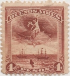 Stamps : America : Argentina :  Buenos_Aires Forbin Nº 139
