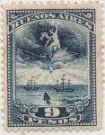 Stamps Argentina -  Buenos_Aires Forbin Nº 144