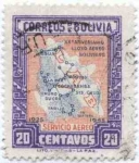 Stamps of the world : Bolivia :  Conmemoracion del XX Aniversario del Lloyd Aereo Boliviano