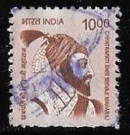 Stamps : Asia : India :  India-cambio