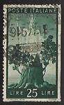Stamps Italy -  New tree growing and Italy