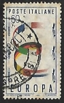 Stamps Italy -  Europa