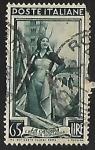 Stamps Italy -  Emilia Romagna, hemp