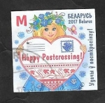 Sellos de Europa - Bielorrusia -  981 - Happy Postcrossing !