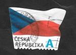 Stamps Czech Republic -  784 - Bandera Nacional
