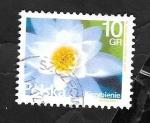 Stamps Poland -  4437 - Nenúfar