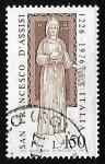 Stamps : Europe : Italy :  San Francisco de Asis