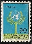 Stamps Italy -  Naciones Unidas