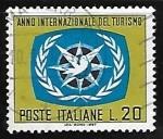 Stamps : Europe : Italy :  Año Internacional del Turismo