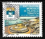 Stamps Italy -  Exposicion mindial de filatelia tematica