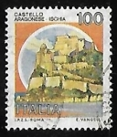 Sellos de Europa - Italia -  Castillo Aragonese Ischia