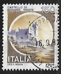 Stamps Italy -  Castillo - Trieste