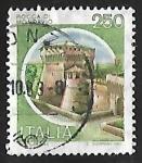 Sellos de Europa - Italia -  Castillo - Mondavio