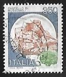 Stamps Italy -  Castillo de Mussomeli