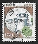 Stamps Italy -  Castillo - Rovereto