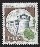 Sellos de Europa - Italia -  Castillo - Rovereto