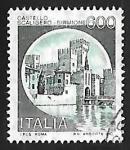 Sellos de Europa - Italia -  Castillo - Sirmione