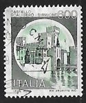 Stamps Italy -  Castillo - Sirmione