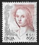 Stamps Italy -  Women in Art
