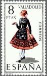 Stamps Europe - Spain -  ESPAÑA 1971 2015 Sello Nuevo Trajes típicos Españoles Valladolid