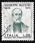 Stamps Italy -  Giuseppe Mazzini