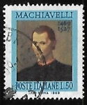 Stamps Italy -  Niccolò Machiavelli