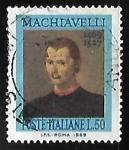 Sellos de Europa - Italia -  Niccolò Machiavelli