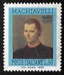 Stamps Italy -  Niccolò Machiavelli