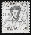 Stamps Italy -  Ciro Menotti