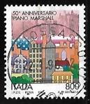 Sellos de Europa - Italia -  Marshall Plan