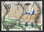 Sellos de Asia - Japón -  Folklore