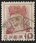 Stamps Japan -  Kannon Bosatsu