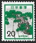 Sellos de Asia - Japón -  Pino japones