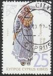 Stamps : Asia : Cyprus :  Traje típico