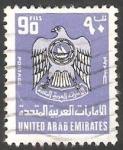 Sellos del Mundo : Asia : Emiratos_Árabes_Unidos : 63 - Escudo de armas