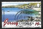 Stamps United Kingdom -  Playas