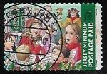 Stamps United Kingdom -  Navidad 2001