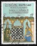 Sellos de Asia - Laos -  60st Anniv of World Chess Federation