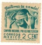 Stamps : America : Mexico :  Quitemos la venda