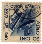 Stamps : America : Mexico :  Censos