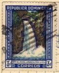 Stamps : America : Dominican_Republic :  Chute de Jimenoa
