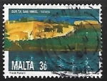 Stamps of the world : Malta :  St Michael