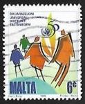Stamps Malta -  Familia simbolica