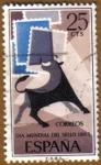 Stamps Spain -  Dia Mundial Sello - Toro